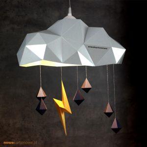nowekartonowe - lampa 01